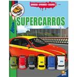 Livro - Brincar-Aprender-Colorir: Supercarros