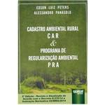 Livro - Cadastro Ambiental Rural: Car & Programa de Regularização Ambiental PRA