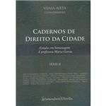 Livro - Cadernos de Direito da Cidade - Série II