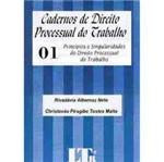 Livro - Cadernos de Direito Processual do Trabalho - Vol. 1