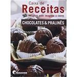 Livro - Caixa de Receitas - Chocolates & Pralines