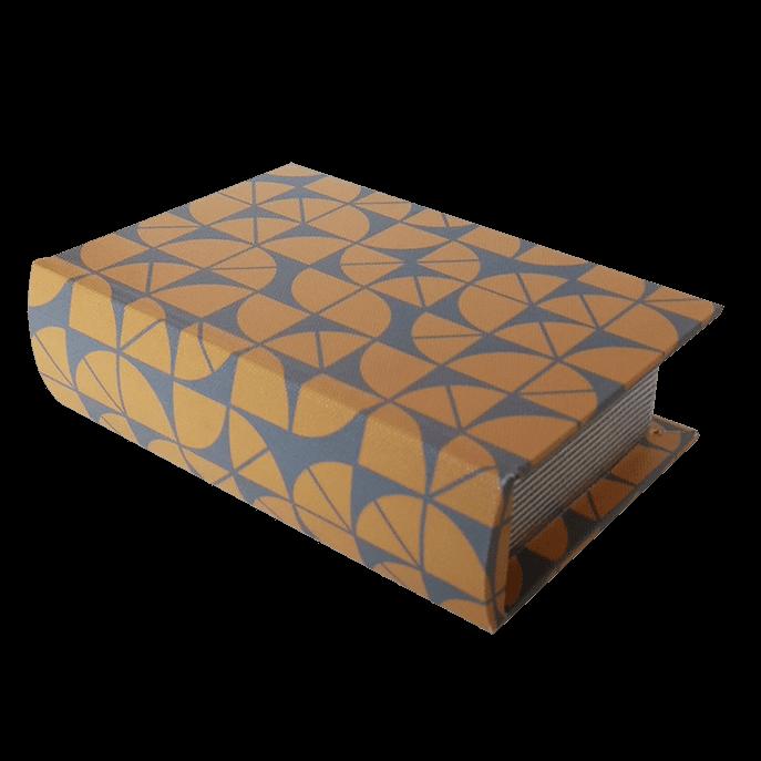 Livro Caixa Decorativa Geométrico P