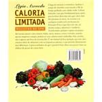 Livro - Caloria Limitada: Receitas de SPA