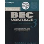 Livro - Cambridge Bec Vantage 3 With Answers