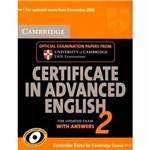 Livro - Cambridge Certificate In Advanced English 2 For Updated Exam With Answers
