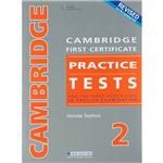 Livro - Cambridge First Certificate Practice Tests 2