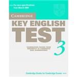 Livro - Cambridge Key English Test 3 - Student's Book