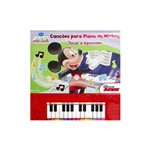 Livro - Cancoes para Piano do Mickey