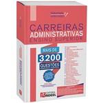 Livro - Carreiras Administrativas Ensino Superior - Gabaritado e Aprovado