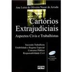 Livro - Cartórios Extrajudiciais - Aspectos Civis e Trabalhistas