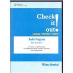 Livro - Check It Out! Audio Program For Level 1
