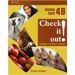 Livro - Check It Out! Combo Split 4B