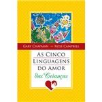 Livro - Cinco Linguagens do Amor das Crianças, as