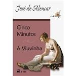 Livro - Cinco Minutos + a Viuvinha (Grandes Leituras -Clássicos da Literatura)