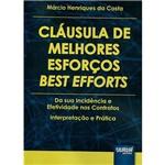 Livro - Cláusula de Melhores Esforços Best Efforts
