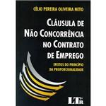 Livro - Cláusula de não Concorrência no Contrato de Emprego