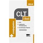 Livro - CLT 4 em 1 Saraiva: CPC, Legislação Previdenciária e Constituiçãi Federal