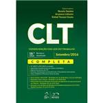 Livro - CLT Consolidação das Leis do Trabalho