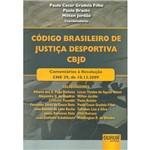 Livro - Código Brasileiro de Justiça Desportiva CBJD