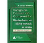 Livro - Código de Defesa do Consumidor - Cláusulas Abusivas Nas Relações Contratuais de Consumo