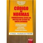 Livro - Código de Normas CorregedoriaGeral da Justiça do Estado de Santa Catarina