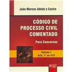 Livro - Código de Processo Civil Comentado para Concursos