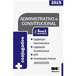 Livro - Códigos Conjugados 4 em 1: Administrativo e Constitucional