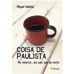 Livro - Coisa de Paulista