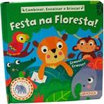 Livro - Combinar, Encaixa e Brincar: Festa na Floresta!