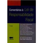 Livro - Comentários à Lei de Responsabilidade Fiscal