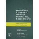Livro - Comentários à Reforma do Código de Processo Penal e Lei de Trânsito - Incluindo Lei Nº 11.900/09 - V
