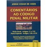 Livro - Comentários ao Código Penal Militar