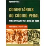 Livro - Comentários ao Código Penal: para Concursos e Sala de Aula
