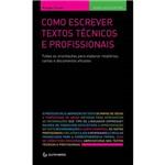 Livro - Como Escrever Textos Técnicos e Profissionais
