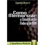 Livro - Como Memorizar a Constituição Federal de 1988