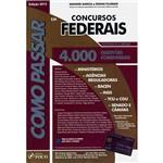 Livro - Como Passar em Concursos Federais: 4.000 Questões Comentadas