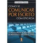 Livro - Como se Comunicar por Escrito com Eficácia