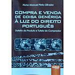 Livro - Compra e Venda de Coisa Genérica à Luz do Direito Português