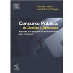 Livro - Concurso Público - da Decisão à Aprovação