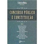 Livro - Concurso Público e Constituição