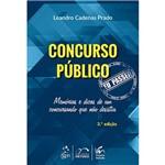 Livro - Concurso Público: eu Passei