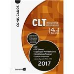 Livro - Conjugados CLT-Trabalhista e Previdenciário Códigos 4 em 1: CLT, CPC (Novo), Legislação Previdenciária, Constituição Federal