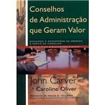Livro - Conselhos de Administração que Geram Valor