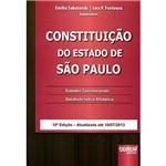 Livro - Constituição do Estado de São Paulo - Emendas Constitucionais Detalhado Índice Alfabético