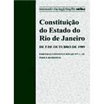 Livro - Constituição do Estado do Rio de Janeiro: de 05 de Outubro de 1989