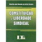 Livro - Constituição e Liberdade Sindical