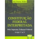 Livro - Constituição Federal Interpretada