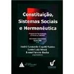 Livro - Constituição, Sistemas Sociais e Hermenêutica, V.3: Programa de Pós-Graduação em Direito da Unisinos