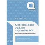 Livro - Contabilidade Pública: Questões Fcc