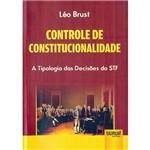 Livro - Controle de Constitucionalidade: a Tipologia das Decisões do STF